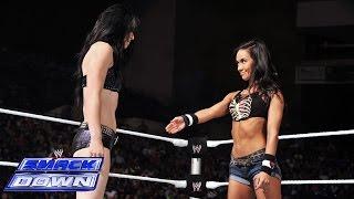 AJ Lee & Paige vs. Summer Rae & Layla: SmackDown, July 18, 2014