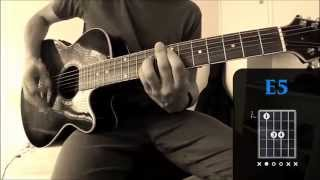 Inside Of You by The Maine - Acoustic Guitar Tutorial