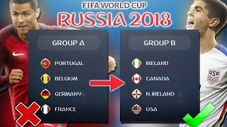 World Cup WITHOUT the TOP NATIONS! - FIFA 18 Career Mode World Cup Experiment