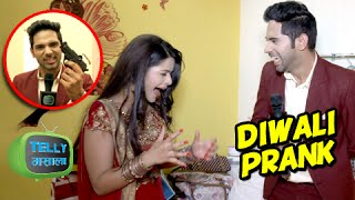 Diwali Special : Dhruv Plays A Prank With Thapki & Team