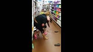Bat Crazy Walmart Catfight | White Trash at their Worst