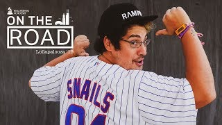 SNAILS On His DJ Battle With NGHTMRE & SLANDER At Lolla '19   On The Road