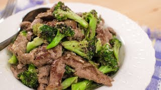 The Best Beef & Broccoli Recipe เนื้อผัดบรอคโคลี่ - Hot Thai Kitchen!