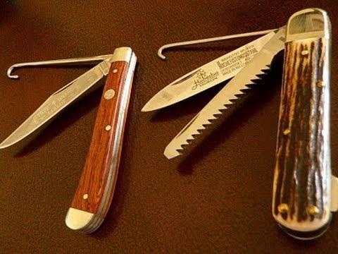 How to use a bird knife gut hook