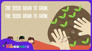 The Farmer Plants The Seeds Song Lyrics for Kids | Songs for Preschoolers