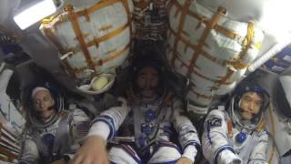 大西宇宙飛行士 ソユーズMS-01宇宙船(47S)船内映像 / Flight highlight of Soyuz 47S(MS-01) in crew cabin