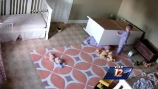 Dresser Falls on Toddler
