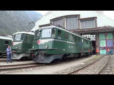 Rollout der Ae 6/6 11411