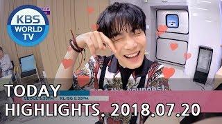 Today Highlights-K-RUSH 3/Sunny Again Tomorrow E49/Your House Helper E11-12[2018.07.20]