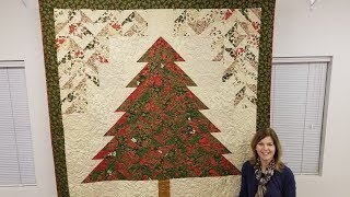 Strip Tube Tannenbaum | Christmas Tree Quilt!