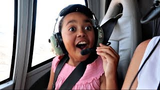 Toys AndMe Helicopter Ride Over The Grand Canyon - Family Fun Video