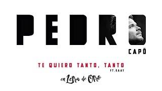 Pedro Capó - Te Quiero Tanto, Tanto (Audio) ft. Kaay