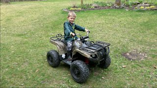 YAMAHA GRIZZLY ATV 24-VOLT QUAD FOR KIDS