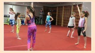 Dance Practice With Friends | Flippin' Katie