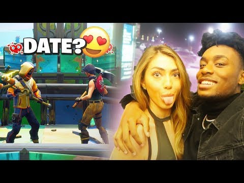 I Met a HOT Model on Fortnite and Took her on an EXPENSIVE Date LUCKIEST DAY EVER