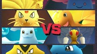 Pokémon GO Gym Battles Level 8 gym Beedrill Vileplume Lapras Dewgong & more!