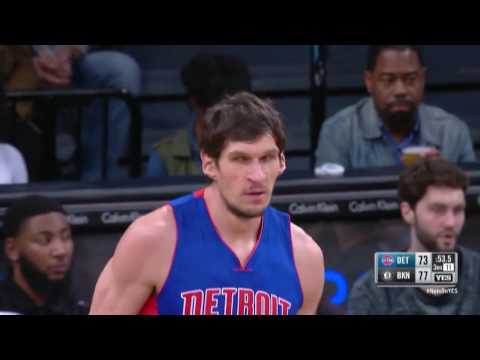 Boban Marjanovic's First Dunk as a