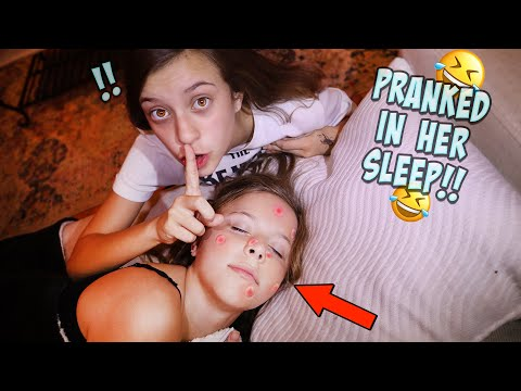 Xxx Mp4 PIMPLE PRANK ON MY SISTER WHILE SHE IS SLEEPING 3gp Sex
