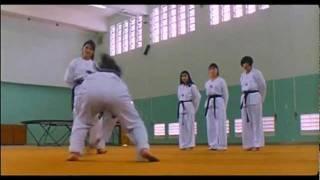 Madam Yang (Cynthia Khan) vs the Female Comando!