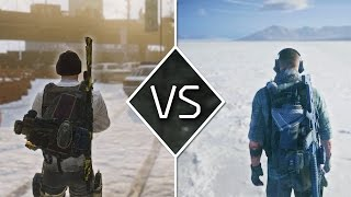 The Division Vs. Ghost Recon Wildlands