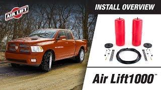 Install Overview: 60818 - Air Lift 1000 - Dodge Ram 1500