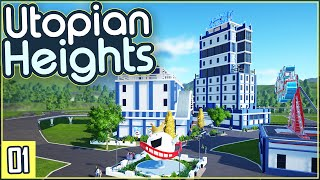 Planet Coaster   Let's Build Utopian Heights   Part 1