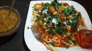 макароны по афгански ,مکرونی خانگی ,افغانی - spaghetti