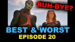 Supergirl Episode 20 Review aka Reaction - Season Finale Better Angels - Beyond The Trailer