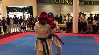 Taekwondo ITF- Red belt goes Berserk!