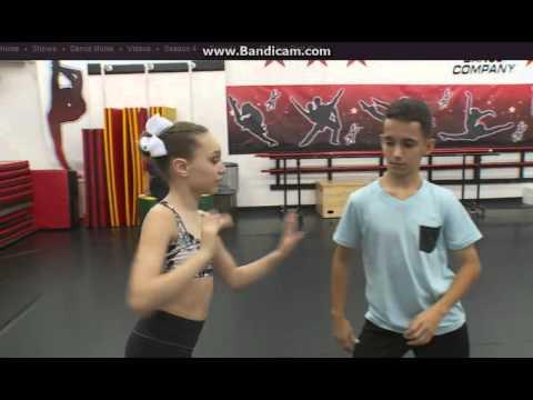 Maddie's First Kiss- Dance Moms Rehearsal