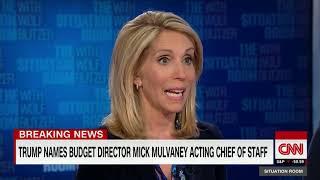 Trump names Mick Mulvaney acting chief of staff CNN