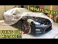 Rebuilding A Wrecked 2013 Nissan GTR Part 8