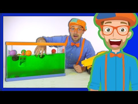 Xxx Mp4 Blippi Sink Or Float Cool Science Experiment For Kids 3gp Sex