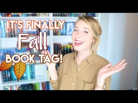 It's Finally Fall Book Tag!