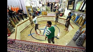 Iranian Men Kabbadeh Training