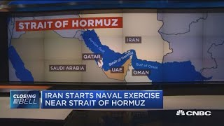If Iran does something near Strait of Hormuz, reaction will be