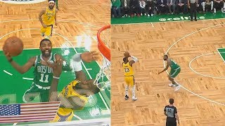 Kyrie Irving Shows LeBron James He Can