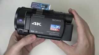 Sony FDR-AX33 Review