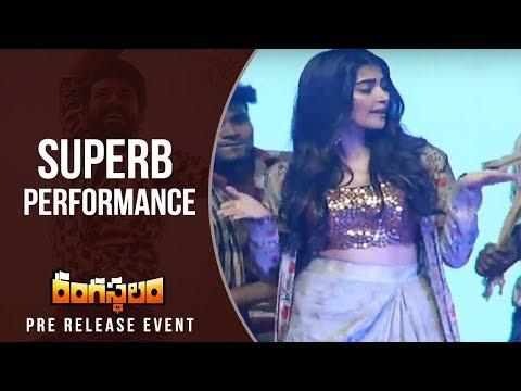 Xxx Mp4 Actress Pooja Hegde Dance For Jigelu Rani Song Rangasthalam Pre Release Event 3gp Sex