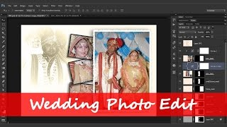 85.[NEW] [Ps] Wedding Photo Edit - Photoshop Tutorial [In Hindi]