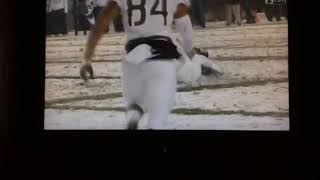 Army Vs Navy AMAZING Catch!!! Good For 20 Yards