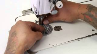 Tutorial - Adjusting Feed Dog Height and Position - ABC Sewing Machine
