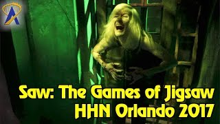 Saw: The Games of Jigsaw highlights from Halloween Horror Nights Orlando 2017