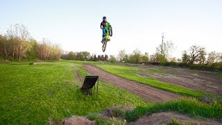 FIRST FREESTYLE JUMP!!! HUGE RAMP