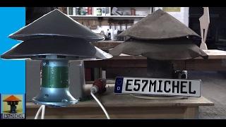 Restauration alte Fabriksirene Typ LUZ - restauration of old factory siren typ LUZ