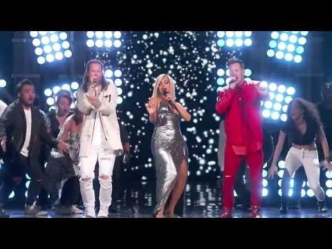 Download [HD] Bebe Rexha & Florida Georgia Line - Meant To Be Live at 53rd ACM Awards