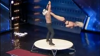 Acrobatic Roller Skaters, Jan and Sven, on Georgia's Got Talent