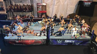 WWE 50 Man Battle Royal  RAW vs SMACKDOWN LIVE (November 2017)