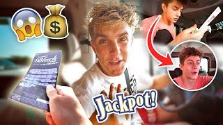 FAKE LOTTERY TICKET PRANK **they thought they won**