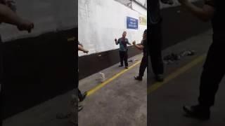 Lomba joget bugil security